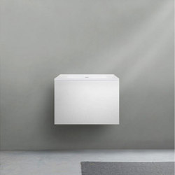 51 furniture | series 600 wall-mount vanity | Waschtischunterschränke | Blu Bathworks