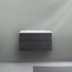51 furniture | series 700 wall-mount vanity | Armarios lavabo | Blu Bathworks