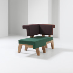 #002.01 WorkSofa | Modular seating elements | PROOFF