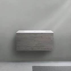 51 furniture | series 900 wall-mount vanity | Armarios lavabo | Blu Bathworks