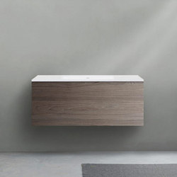 51 furniture | series 1200 wall-mount vanity | Waschtischunterschränke | Blu Bathworks