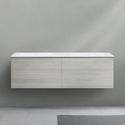 51 furniture | series 1400 wall-mount vanity | Armarios lavabo | Blu Bathworks