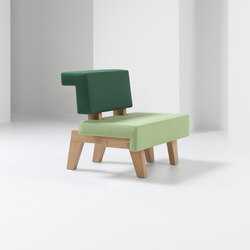 #002.02 WorkSofa | Modular seating elements | PROOFF