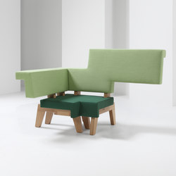 #002.03 WorkSofa | Modular seating elements | Prooff