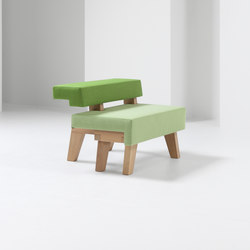 #002.05 WorkSofa | Modular seating elements | Prooff