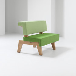 #002.06 WorkSofa | Modular seating elements | PROOFF