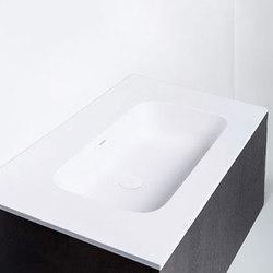 blu•stone™ vanity tops | series 900 | Wash basins | Blu Bathworks