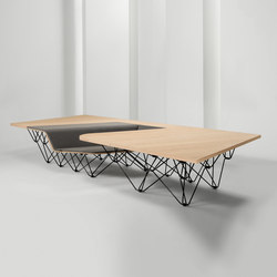 #005.01 SitTable | Tables de réunion | Prooff