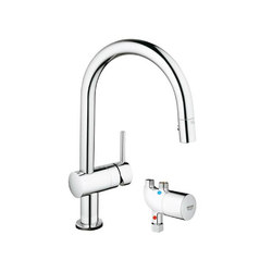Minta Touch Pull-Down with Grohtherm Micro | Robinetterie de cuisine | Grohe USA