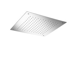 "shower head  | stainless steel 19½"" recessed 