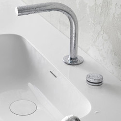 pure∙2 electronica | two-hole deck-mounted basin mixer | Wash basin taps | Blu Bathworks
