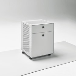 Mesh Office Pedestal | Carritos auxiliares | Piure