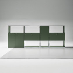 Mesh Office Sideboard | Caissons | Piure
