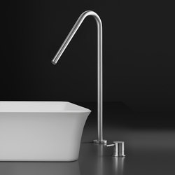 inox | stainless steel single-hole, deck-mount basin spout | Wash-basin taps | Blu Bathworks