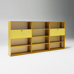 Mesh Office Shelf system | Shelving | Piure