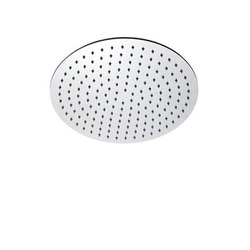 "inox | stainless steel 8"" shower head round 