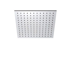 "inox | stainless steel 8"" shower head square 