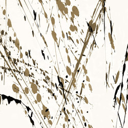 Action Painting Drip | Bespoke wall coverings | GLAMORA