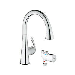 Ladylux3 Café Touch with GrohTherm Micro | Kitchen taps | Grohe USA