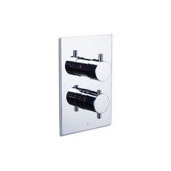 pure | pure in-wall thermostatic mixer with 3 port combination diverter | Duscharmaturen | Blu Bathworks