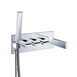 opus∙2 | in-wall thermostatic tubfiller | Bath taps | Blu Bathworks