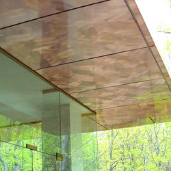 Custom Ceiling in Classic Metal Collection on Clouds - Exterior | Metal sheets / panels | Moz Designs