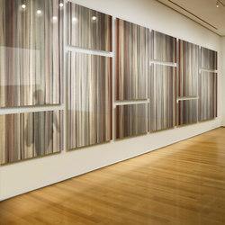 Metal Blendz Art in Blendz Collection #442 on Bamboo Grain | Wall art / Murals | Moz Designs