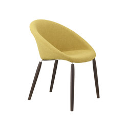 Natural Giulia Pop | Visitors chairs / Side chairs | Scab Design