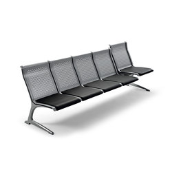 Passport Metal | Waiting area benches | actiu