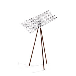 Space-Frame Floor Lamp | Free-standing lights | moooi