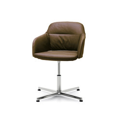 Captain Soft | Visitors chairs / Side chairs | Sinetica Industries