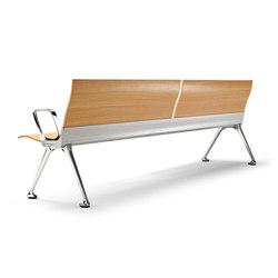 Transit Bench | Waiting area benches | actiu