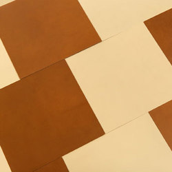 Floor Tile | Natural leather floor tiles | Spinneybeck