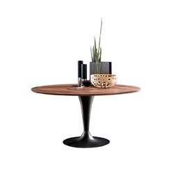 Flûte Wood Round | Restaurant tables | Sovet