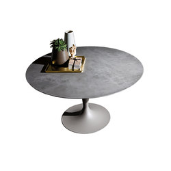 Flûte Round Ceramica | Dining tables | Sovet