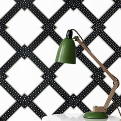Harlequin Layered Tile | Natural leather wall tiles | Spinneybeck