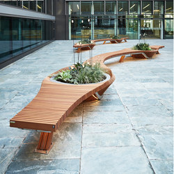Botanic Twist | Benches | TF URBAN