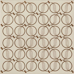Loop Laser Engraved Tile | Natural leather wall tiles | Spinneybeck
