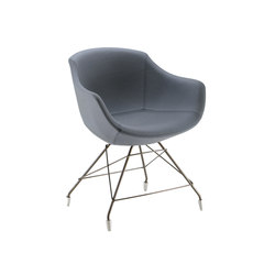 Colimbas 1610 PO b41f | Visitors chairs / Side chairs | Cizeta | L'Abbate