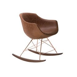 Colimbas 1610 PO b42d | Rocking chairs / armchairs | Cizeta | L'Abbate