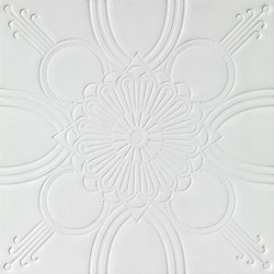 Starflower Debossed Tile | Natural leather wall tiles | Spinneybeck