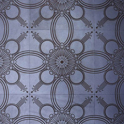 Starflower Laser Engraved Tile | Leather tiles | Spinneybeck