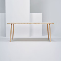 Facile Table | MC13 | Cafeteria tables | Mattiazzi