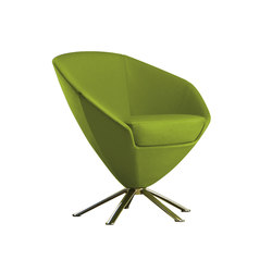 Fleur 1520 PO b35g | Visitors chairs / Side chairs | Cizeta | L'Abbate