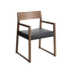 Linea 1001 PO | Visitors chairs / Side chairs | Cizeta | L'Abbate