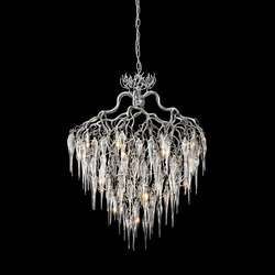 Hollywood icicles chandelier | Ceiling suspended chandeliers | Brand van Egmond