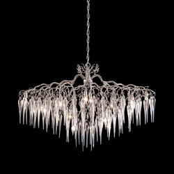 Hollywood icicles chandelier | Lustres suspendus | Brand van Egmond