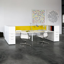 Diamond Operative | Systèmes de tables de bureau | Sinetica Industries