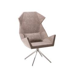 Prisma 1671 PO b14g | Lounge chairs | Cizeta | L'Abbate