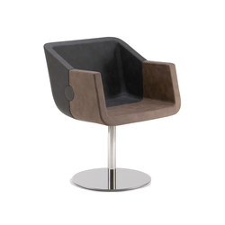 Rok & Roll 1680 PO b01g | Visitors chairs / Side chairs | Cizeta | L'Abbate